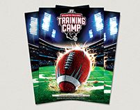 Atlanta Falcons training camp brochure