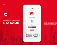 Salik Mobile App Redesign Concept
