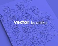 Vector by strelka illustrations