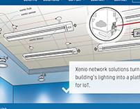 Xenio | Smart Lighting Illustrations