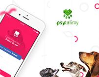 Psytulimy - UI UX design
