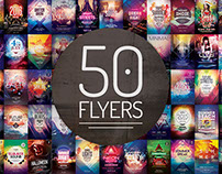 50 Flyer Templates - Mega Bundle