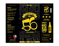 Etiquetas Cerveza +56