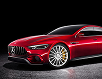 Mercedes AMG GT Production Spec Saloon