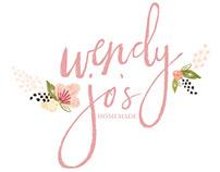 Wendy Jo's Handmade Bakery - Logo Design