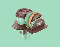 JOIE Bread Co Branding