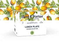 Host & Porter Brand, Packaging, and Website