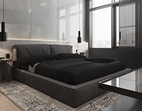 Monochrome design apartment