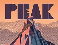 PEAK - typeface