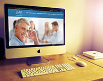 Website design for a leading Executive Search Co
