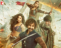 THUGS OF HINDOSTAN Vertical Poster