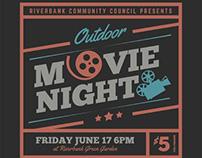 Movie Night Flyer Templates