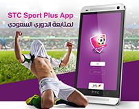 STC Sport Plus | UI/UX Mobile app