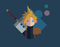 Final Fantasy VII design series