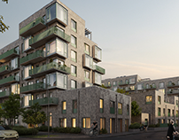 Residential complex. Denmark