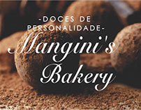 Business Card Mangini's Bakery