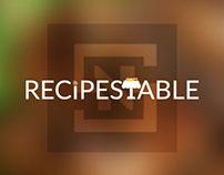 Recipes Table Logo