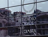 Coimbra Stadium, signage and wayfinding system