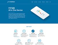 AOS Fintech Web design