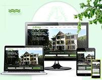 Adaptive web design for clinical sanatorium in Ukraine