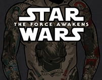 Star Wars 7 Old School Tattoos