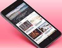 News Portal App UI