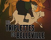 Les Triplettes De Belleville Movie Poster Designs