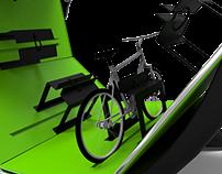 'Orbi' Bicycle Rack