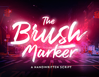 Brush Marker Typeface