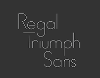 Regal Triumph Sans