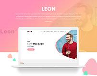 LEON - Personal Portfolio Template