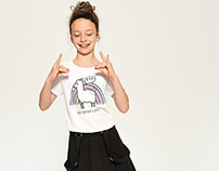 UNICORN POWER Prints for Reserved Kids SS17