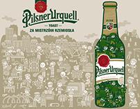 Pilsner Urquell Mural