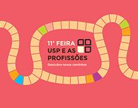 11ª Feira USP e as Profissões