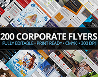 200 Corporate Flyers with Extended License - Only $39