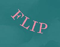Identidade Visual FLIP baseada na Revista Senhor