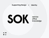 SOK / supporting design & identity