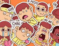 Stickers whatsapp vol 1