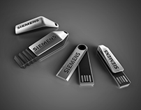 Siemens USB flash drive design