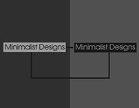 Minimalist Designs