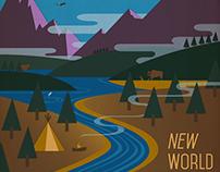Antonín Dvořák New World Symphony Cover Art