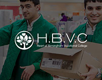 Heart of Birmingham Vocational College - Rebrand