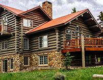 Keystone Colorado Log Home Maintenance Project