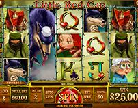 Red Ridinghood slot game design / Flash animation