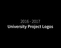 2016-2017 University Project Logos