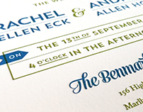 Benmarl Winery Wedding Invitations