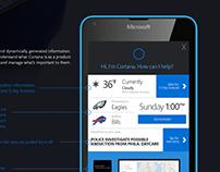Microsoft- Cortana experience