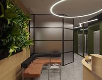 OFFICE INTERIOR DESIGN. ODESSA 2018