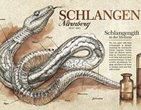 Schlangen Apotheke - poster