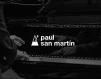 Paul San Martín, sitio web